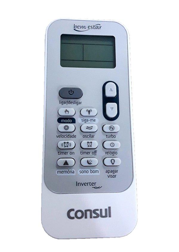 Controle Remoto Ar Condicionado Consul Original W10745697