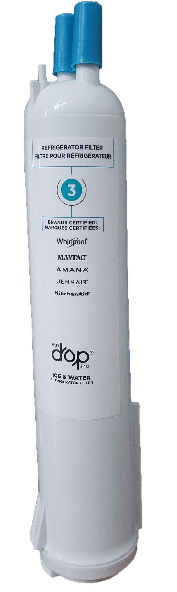Filtro Refil de Água para Geladeira Side by Side Brastemp (br905ax) - W10320833 (original)