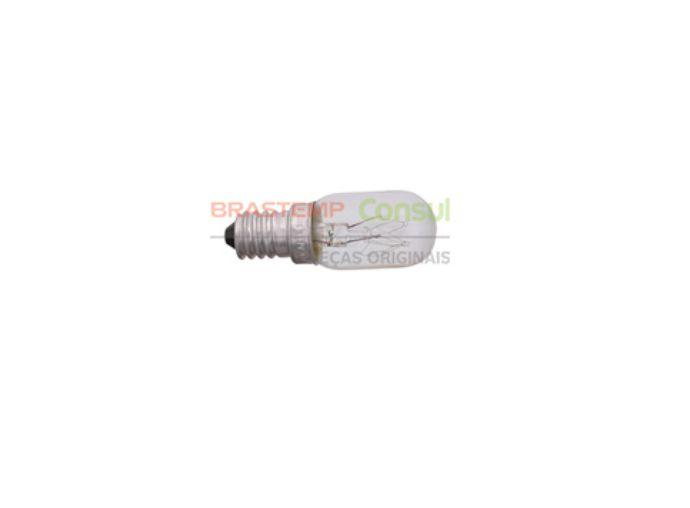 Lampada refrigerador Brastemp Consul 127V W10267226 original