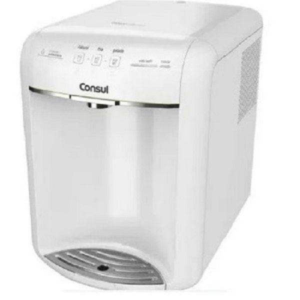 Purificador de Água Consul (CPB36ABA) -  110V - Branco - Alta Capacidade de Refrigeração e 3 Níveis de Temperatura