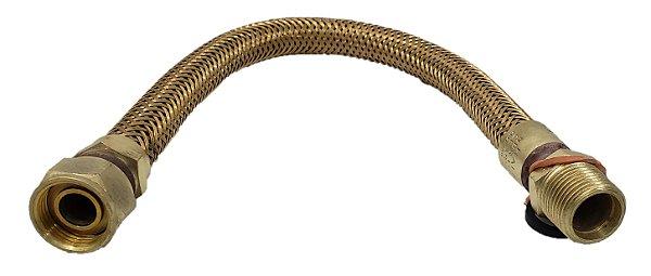 Mangueira Flexível 1/2 x 120 mm Macho x Fêmea Haenke 40 cm