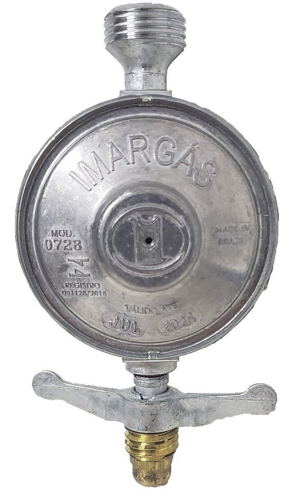Registro Válvula P/ Botijão Gás Glp Rosca 1/2 Bsp PR0012