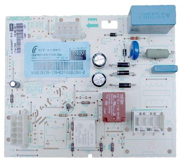 Placa Módulo Freezer Brastemp Bvr28 W10619170 220v Original