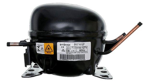 Compressor Embraco 1/6 R600 127V original