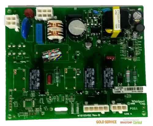 Controle Eletrônico Módulo Potência Side Brastemp W10705742