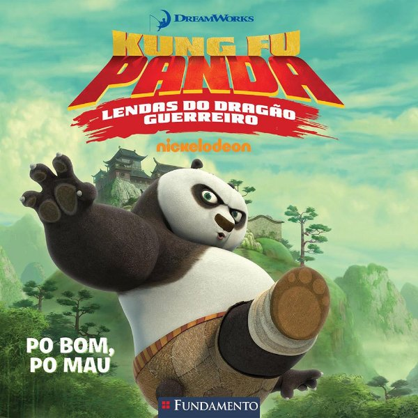 Livro Kung Fu Panda - Lendas do Dragão Guerreiro (DreamWorks)