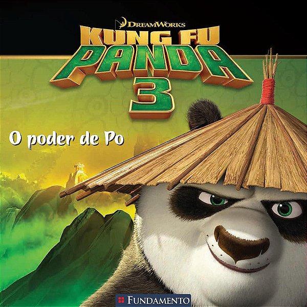 Livro Kung Fu Panda 3: O Poder de Po (Dreamworks)