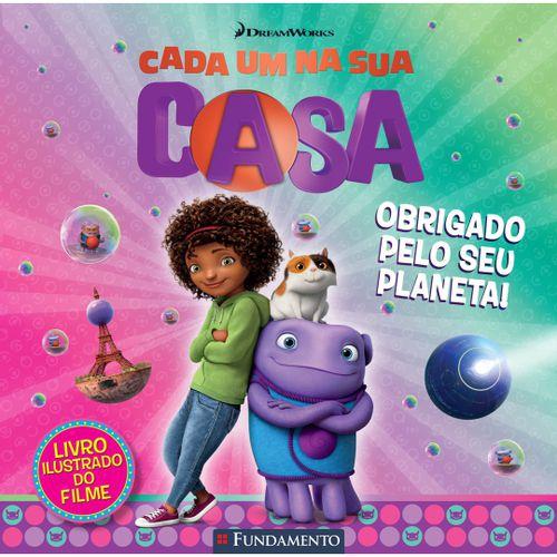 Livro Cada Um Na Sua Casa - Obrigado Pelo Seu Planeta! (DreamWorks)