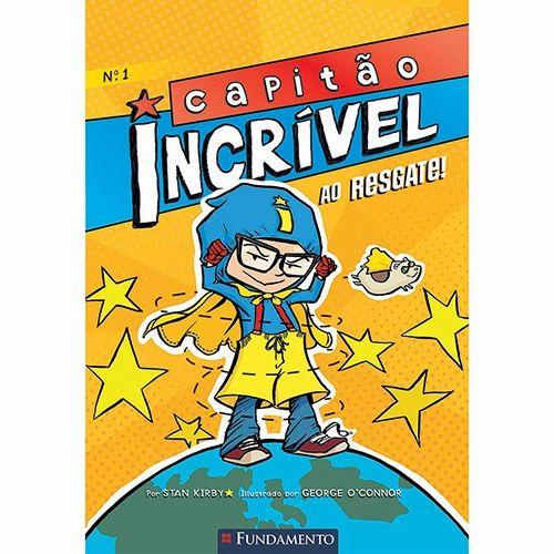 Livro Capitão Incrível: Ao Resgate! Vol. 1