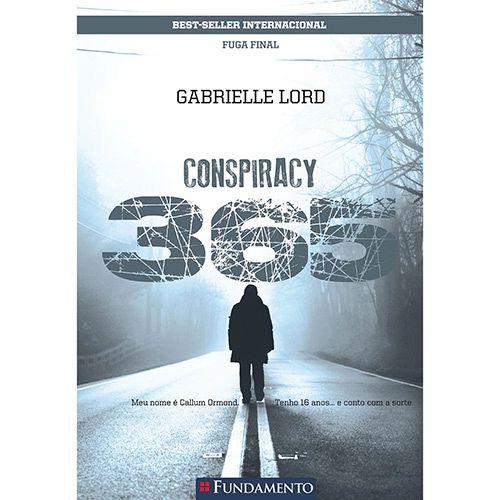 Livro Conspiracy 365: Fuga Final - Livro 12 Dezembro
