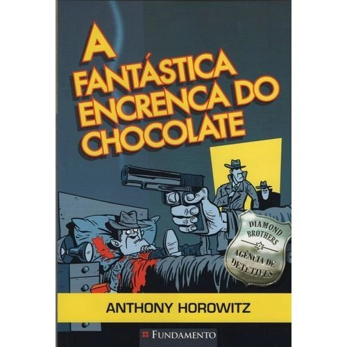 Livro  Diamond Brothers - A Fantástica Encrenca do Chocolate