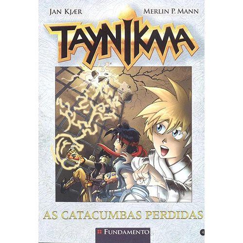 Livro Taynikma: As Catacumbas Perdidas