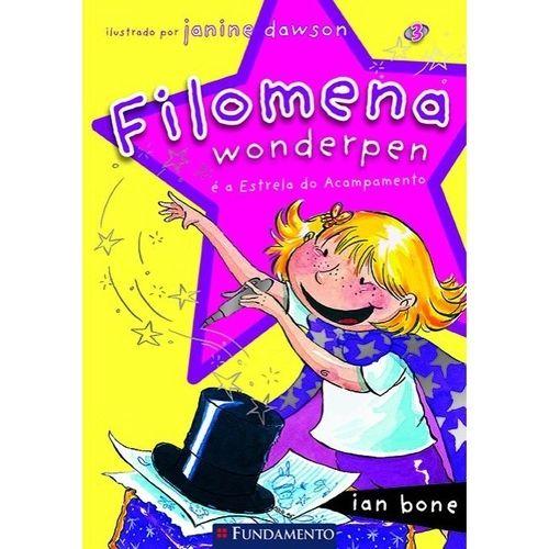 Livro Filomena Wonderpen - É A Estrela Do Acampamento