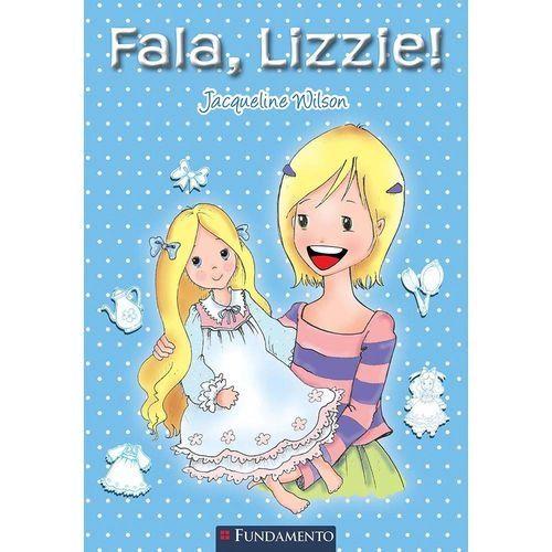 Livro Jacqueline Wilson - Fala, Lizzie!