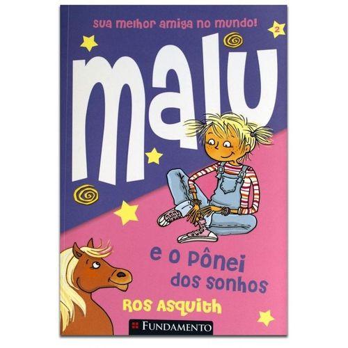 Livro Malu e o Pônei dos Sonhos