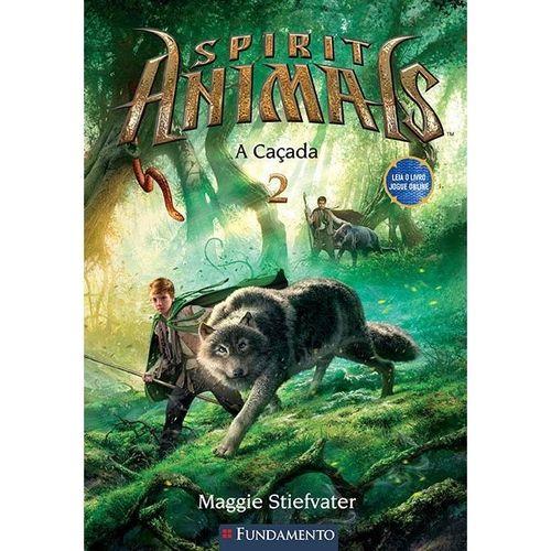 Livro Spirit Animals - A Caçada