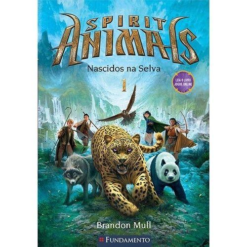 Livro Spirit Animals - Nascidos na Selva