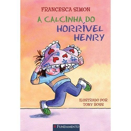 Livro Horrível Henry - A Calcinha do Horrível Henry