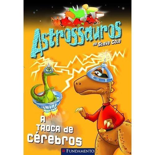 Livro Astrossauros: A Troca de Cérebros