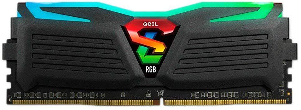 MEMÓRIA 8GB DDR4 2666MHZ GEIL SUPER LUCE RGB - GLC48GB2666C19SC