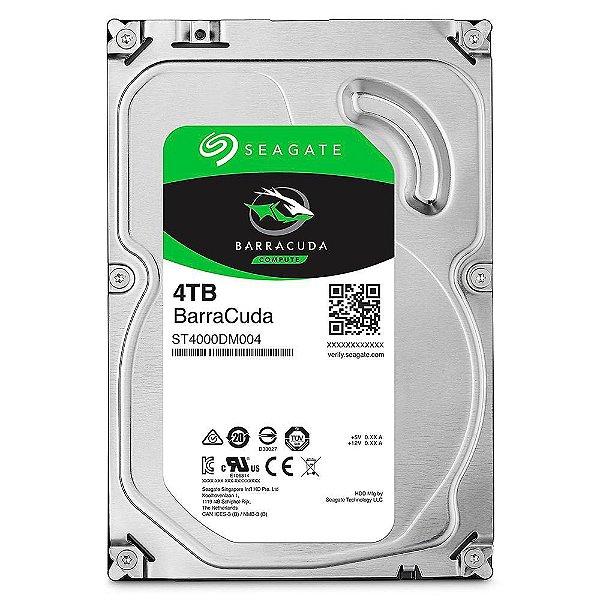 HD Seagate BarraCuda, 4TB, 3.5´, SATA - ST4000DM004
