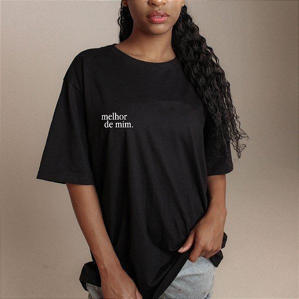 Camiseta Melhor de Mim preta