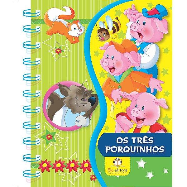 Livro Infantil Os Três Porquinhos Coleção Meus Livros Favoritos Blu Editora