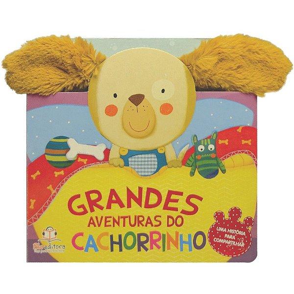 Livro Infantil Grandes Aventuras do Cachorrinho