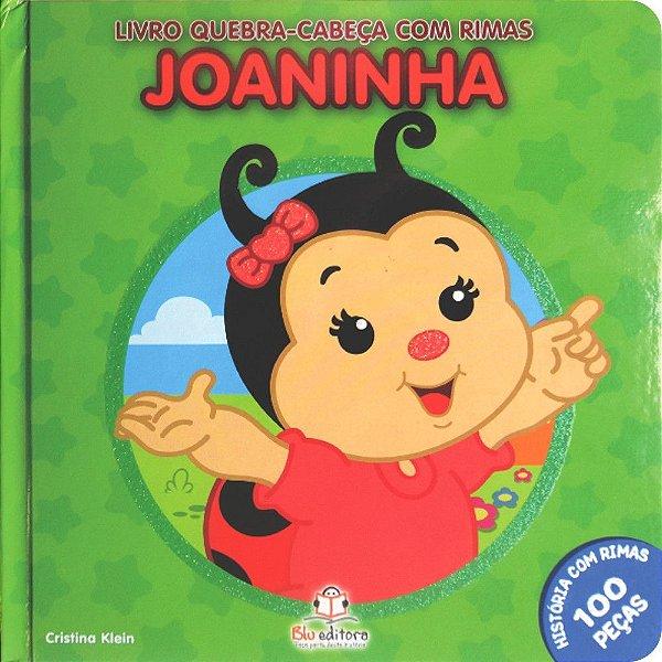 Livro Quebra-cabeça com Rimas Joaninha