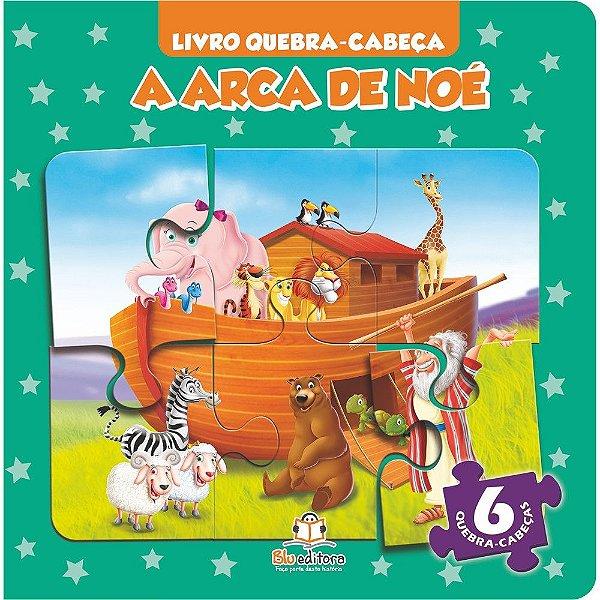Livro Quebra-cabeça Pequeno A Arca de Noé