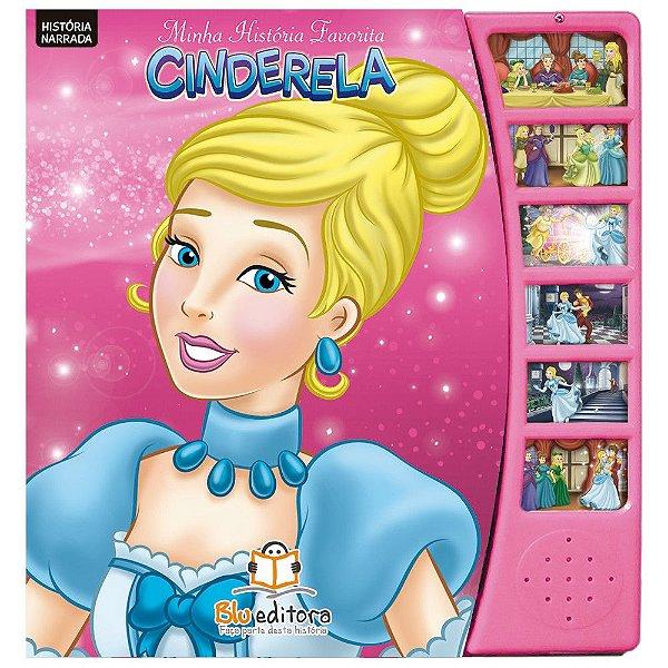 Livro Infantil Minha História Favorita Cinderela