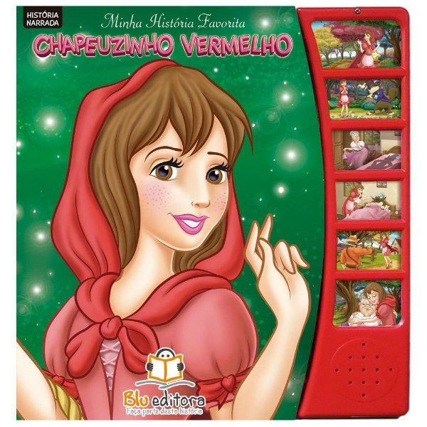 Livro Infantil Minha História Favorita Chapeuzinho Vermelho