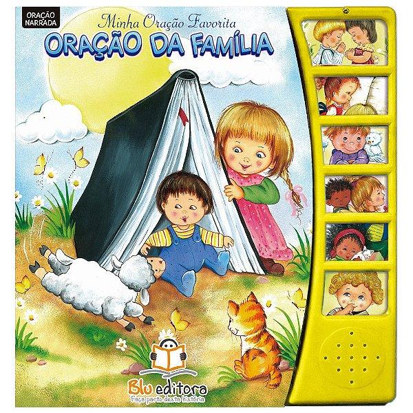 Livro Infantil Minha Oração Favorita Oração da Família