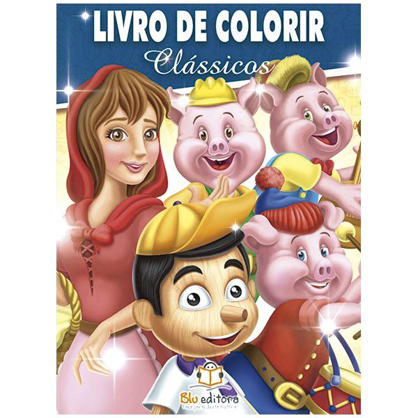 Livro de Colorir Clássicos