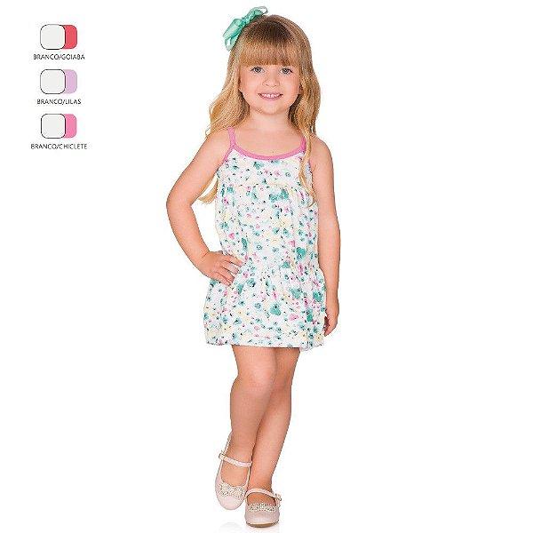 Vestido Infantil Menina de Alcinha Verão
