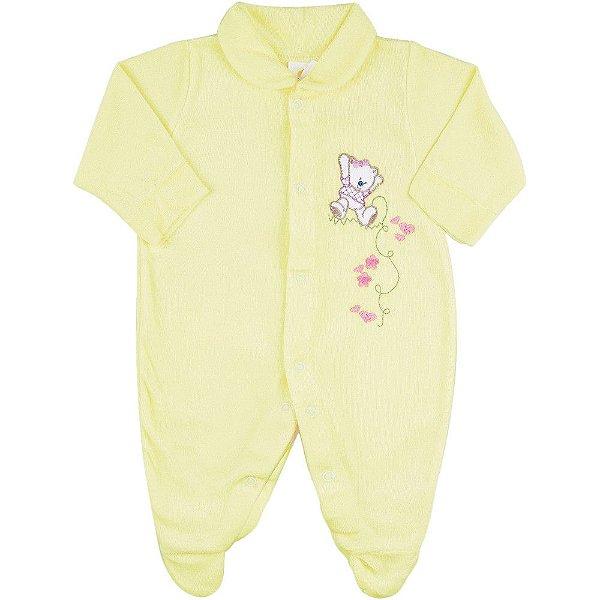 Roupa Bebê Menino Menina Macaquinho de Plush Recém-nascido