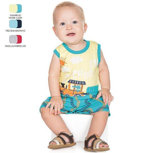 Conjunto para Bebê Menino Machão (Verão)