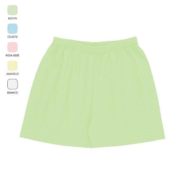 Kit 3 Shorts para Bebê Unissex Cores Sortidas (Verão)