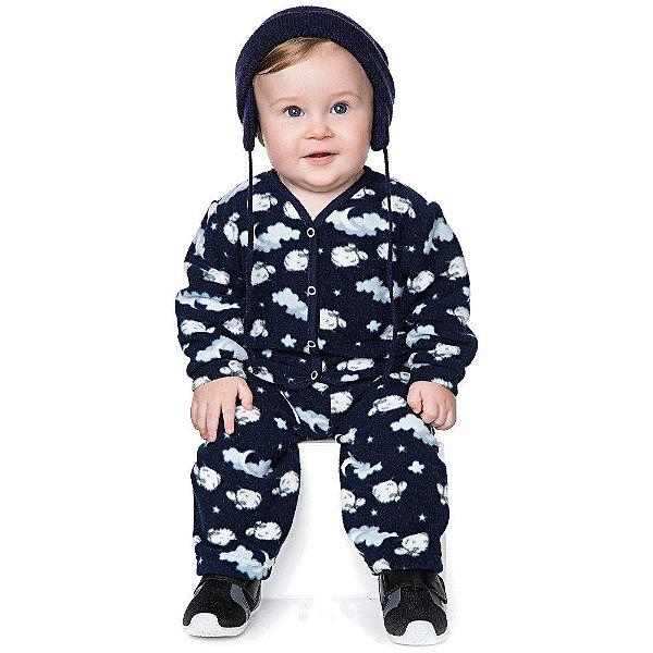 Conjunto Bebê Menino Inverno Calça e Casaco de MIcrosoft