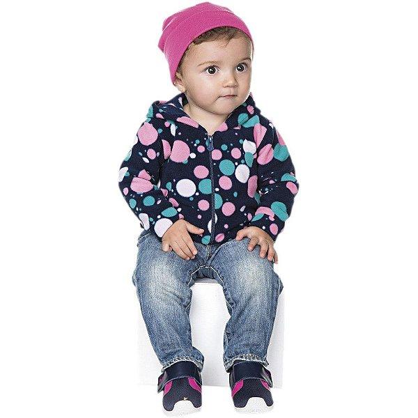 Roupa de Inverno Bebê Menina Jaqueta de Microsof