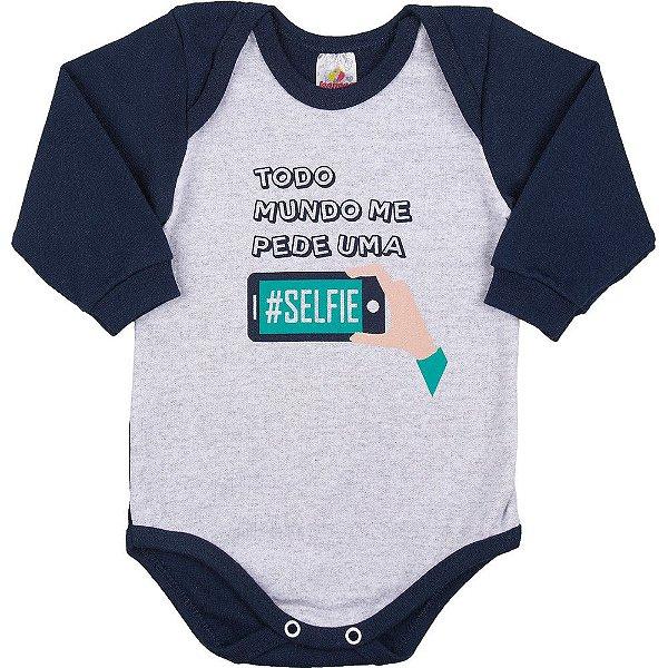 a44a0e926 Body de Inverno Manga Longa para Bebê Menino de 0 a 18 meses - Bebê ...
