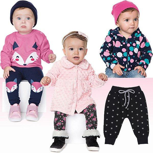 Kit Roupinhas de Inverno Isensee para Bebê Menina 6 Peças - Bebê e ... 3f03318ee8a