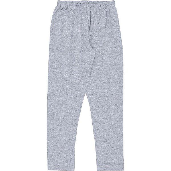 Roupa Infantil Menina Calça Legging de Cotton Lisa Inverno