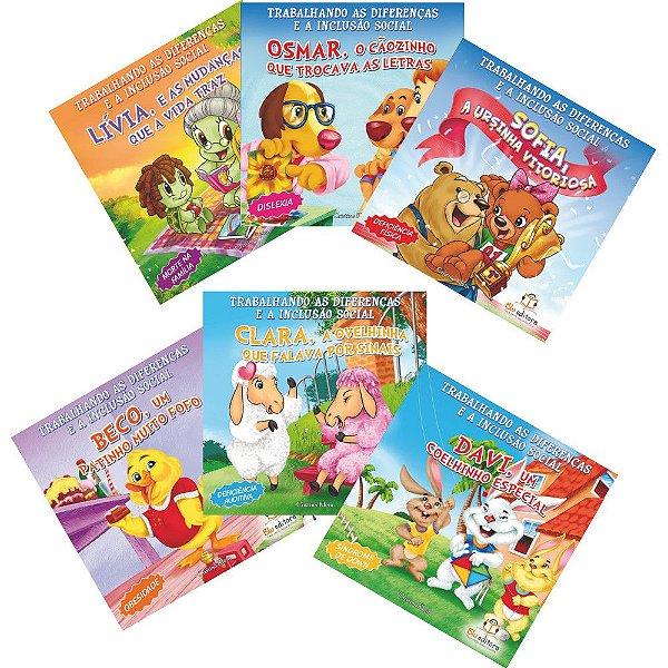 Coleção Livro Infantil Trabalhando as Diferenças Blu Editora