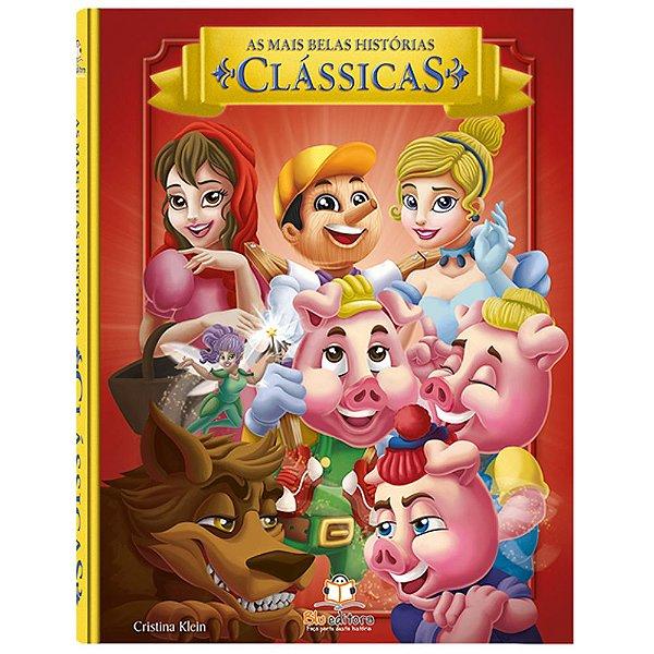 Livro Infantil As Mais Belas Histórias Clássicas
