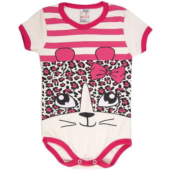 Roupa Bebê Menina Body Curto de Ribana Verão Isensee