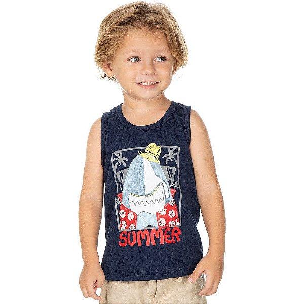 Roupa Bebê Infantil Menino Camiseta Regata Summer Isensee