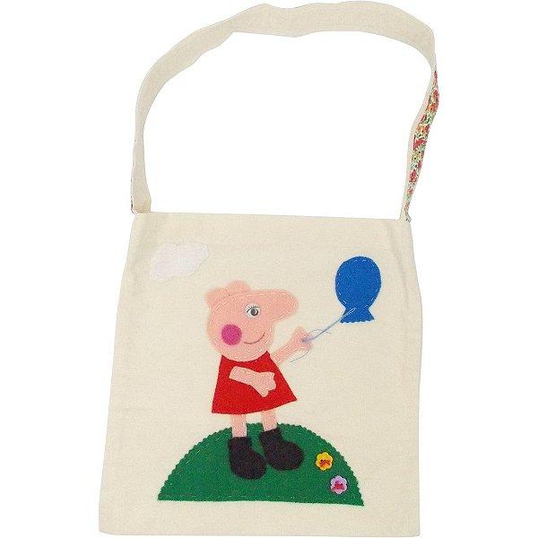 Sacola de Lembrança para Festa Infantil da Peppa Pig 6 Unidades