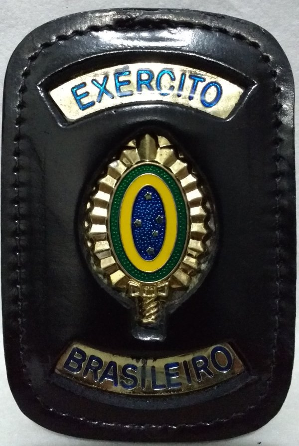 Distintivo bolachão exército brasileiro  brinde corrente