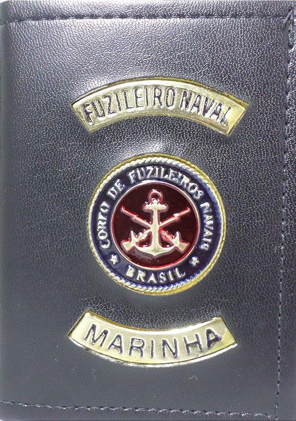 fe101afd48992 Carteira fuzileiro naval marinha - BRAVO21 artigos civil e militares